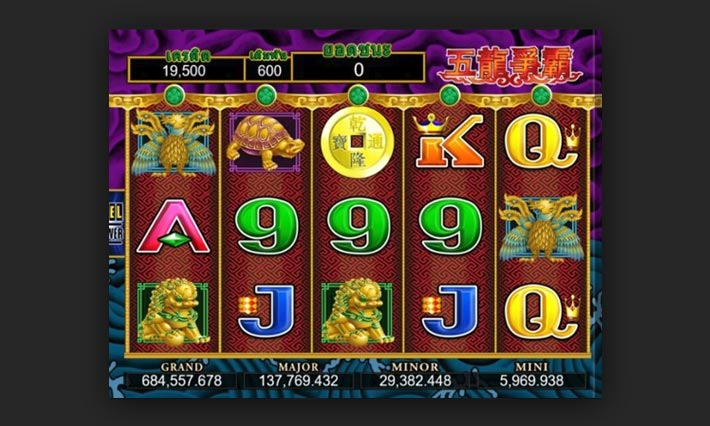 5 dragon slot online