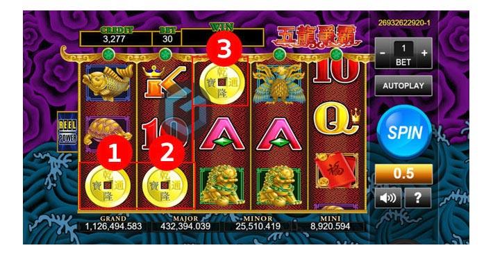 5 dragons free games