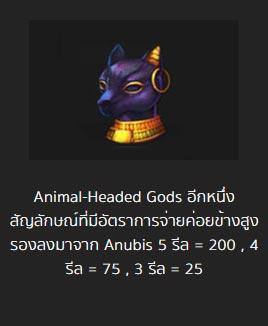 animal headed gods pharaoh