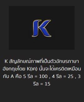 k symbol pharoah