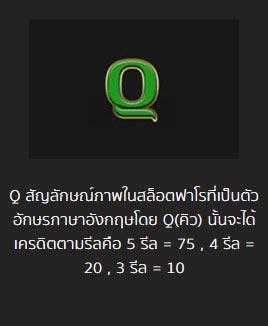 q symbol pharoah