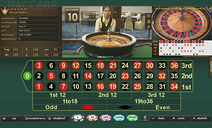roulette gclub online