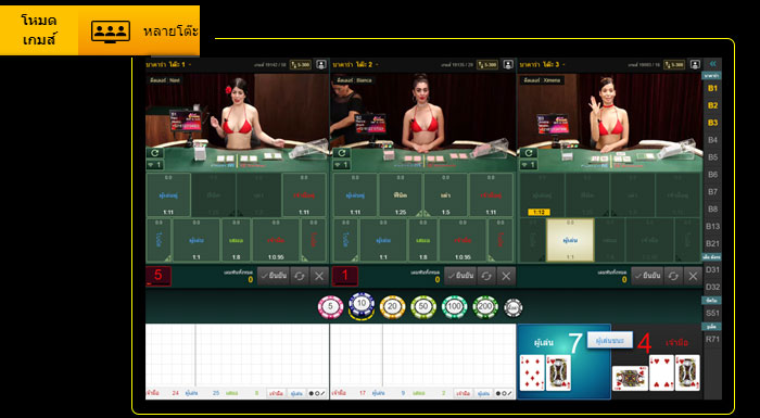 multi baccarat sexy game