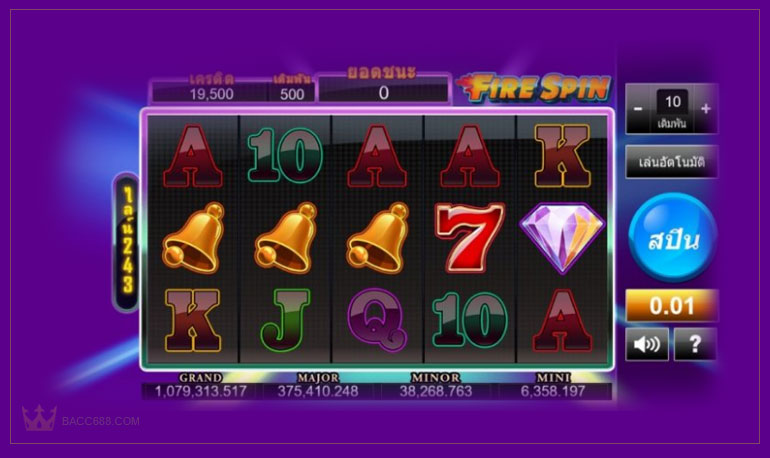 Fire Spin Slot